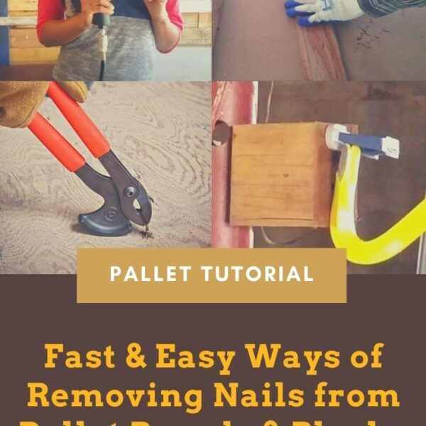 Fast & Easy Ways of Removing Nails from Pallet Boards & Blocks