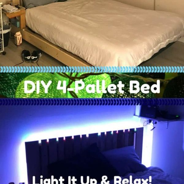 1001pallets.com-four-pallet-bed-frame-with-side-table-08