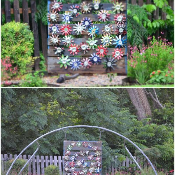 Garden Art – Skid Can Jump