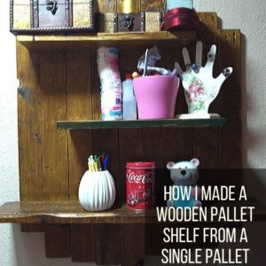 How I Made a Wooden Pallet Shelf from a Single Pallet