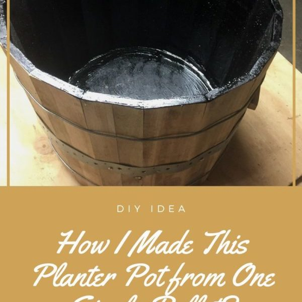 How I Made This Planter Pot from One Single Pallet