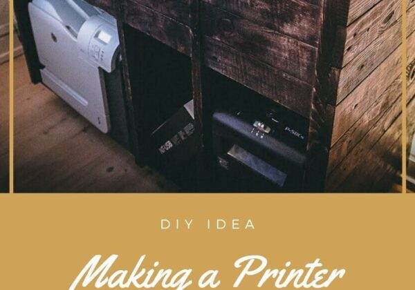 Making a Printer Cabinet from Pallets!