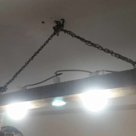 1001pallets.com-antique-wooden-chandelier-with-chain
