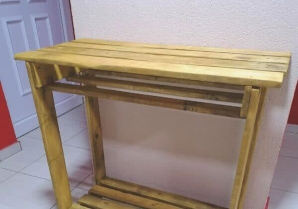 Multi-Purpose Pallet High Table For Living Room