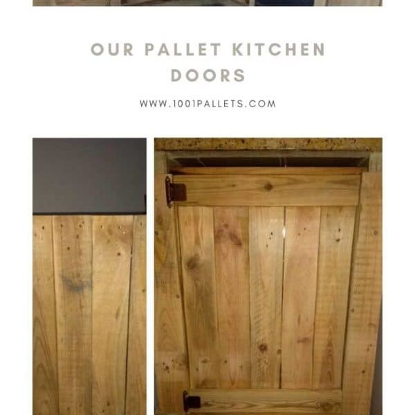 Our Pallet Kitchen Doors