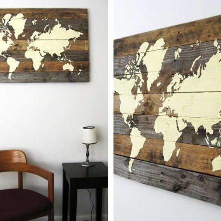 DIY-Pallet-Board-World-Map-The-Merrythought