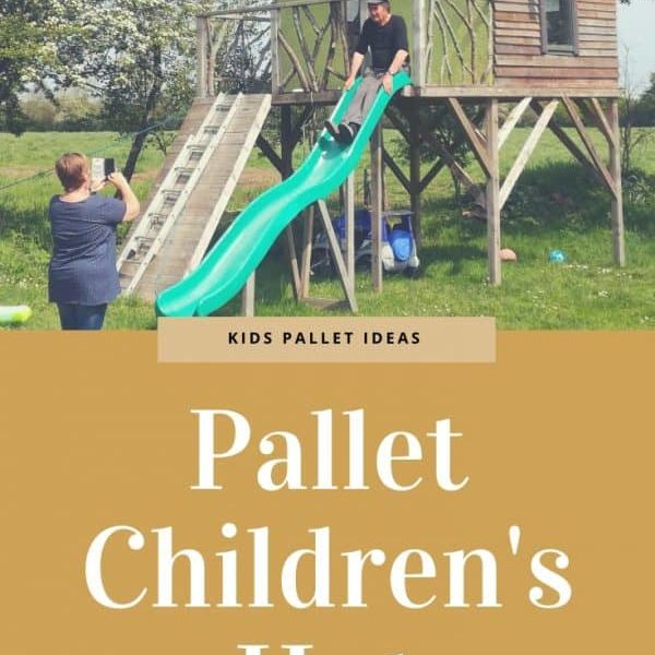 Pallet Children's Hut