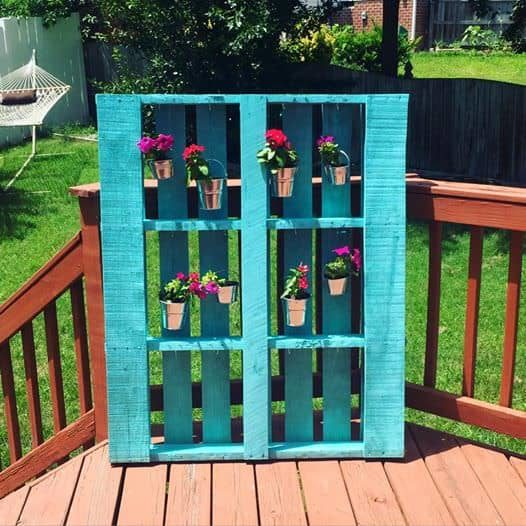 Add Style Quickly More Than 50 Beautiful Pallet Wall: Pallet Green Wall €� 1001 Pallets
