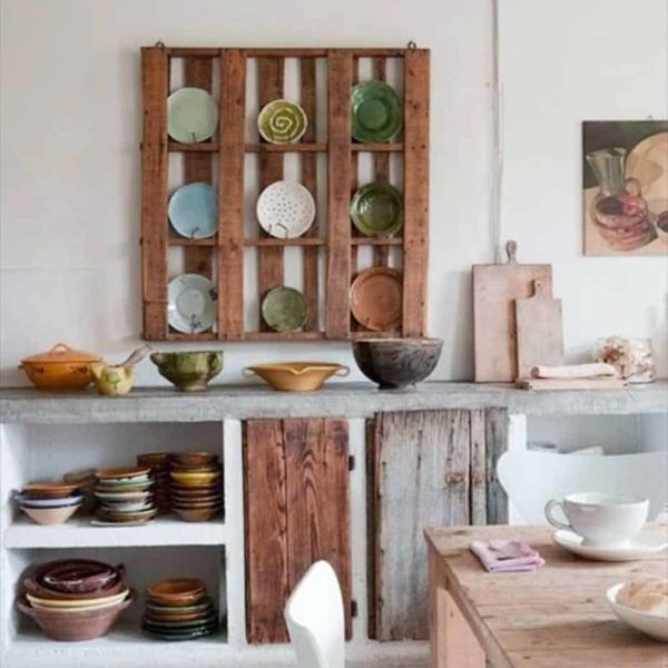 Pallet Storage for the Kitchen