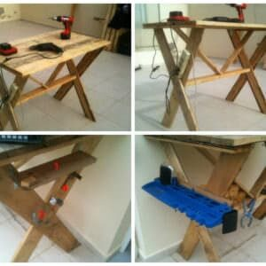 Pallet-workbench
