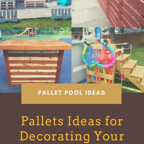 Pallets Ideas for Decorating Your Pool Area