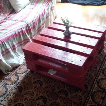 1001pallets.com-pallet-coffee-table-in-red