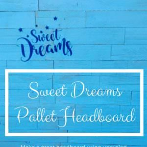 1001pallets.com-sweet-dreams-stenciled-pallet-headboard-01