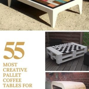 55 Most Creative Pallet Coffee Tables For Your Inspiration