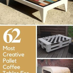 The 62 Most Creative Pallet Coffee Tables For Your Inspiration