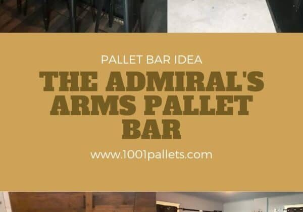 The Admiral's Arms Pallet Bar