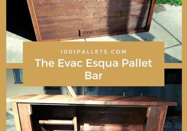 The Evac Esqua Pallet Bar