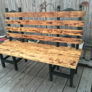 1001pallets.com-turning-a-couple-of-old-chairs-in-a-bench3