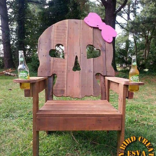 Here's a gift that keeps on giving - make her a special chair that shows her sweet and naughty side!
