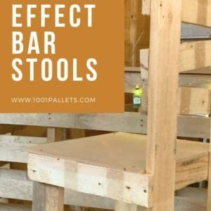 Wonky Effect Bar Stools