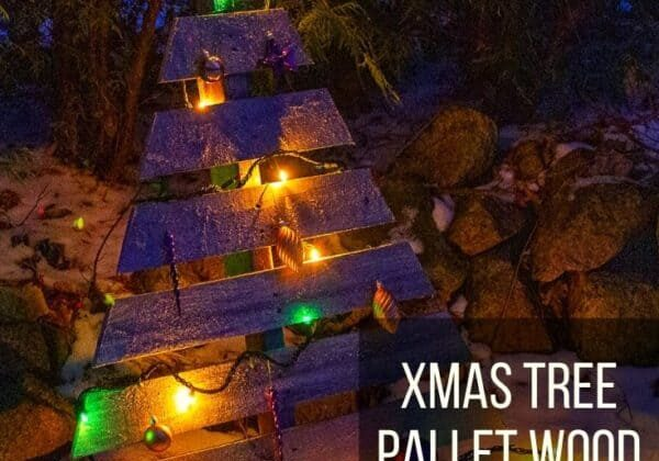 Xmas Tree Pallet Wood Project